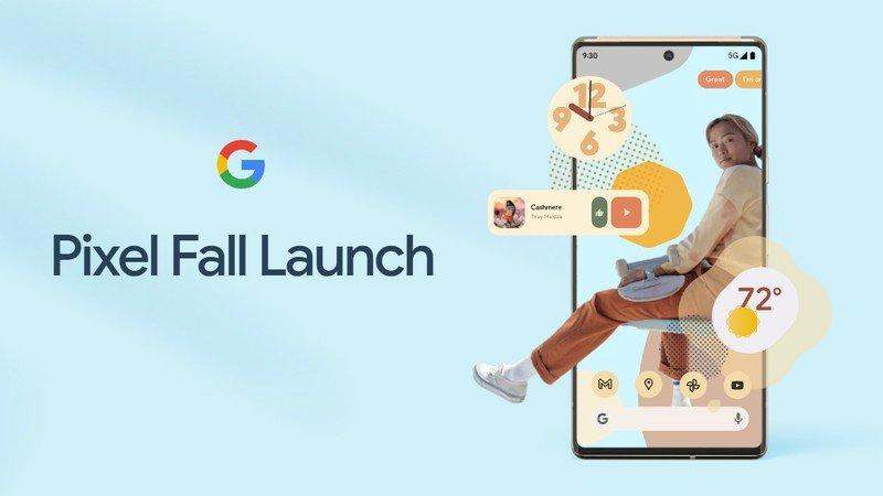 google-pixel-6-fall-launch